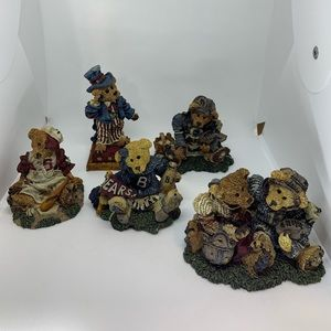 5 Boyds Bears and Friends Figurines